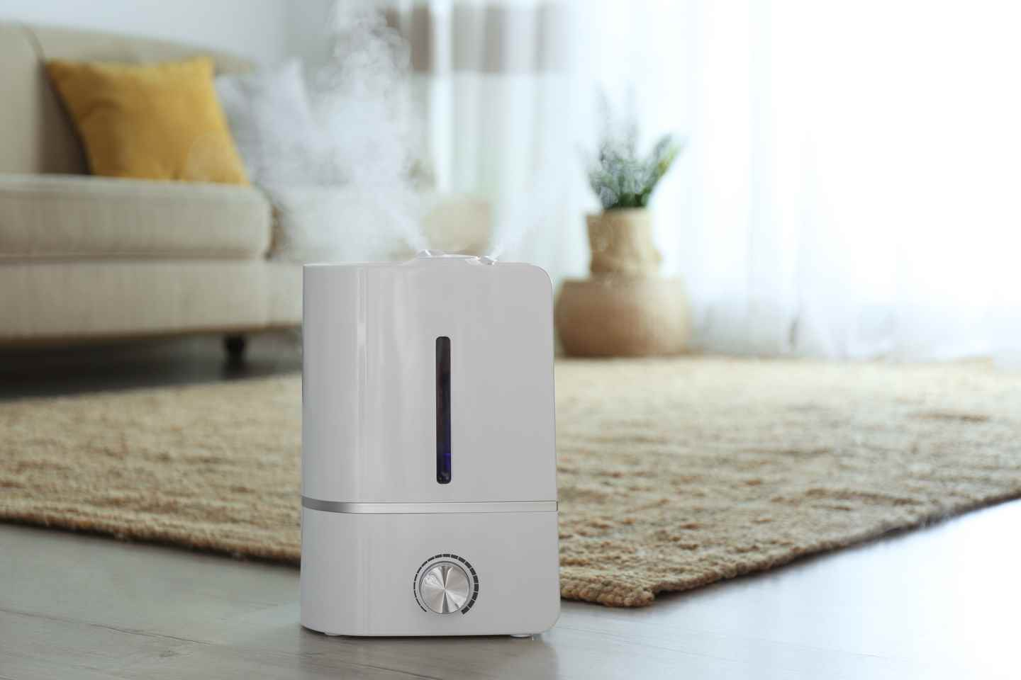 Adding vinegar to humidifier water will help to reduce bacteria, mold and mildew