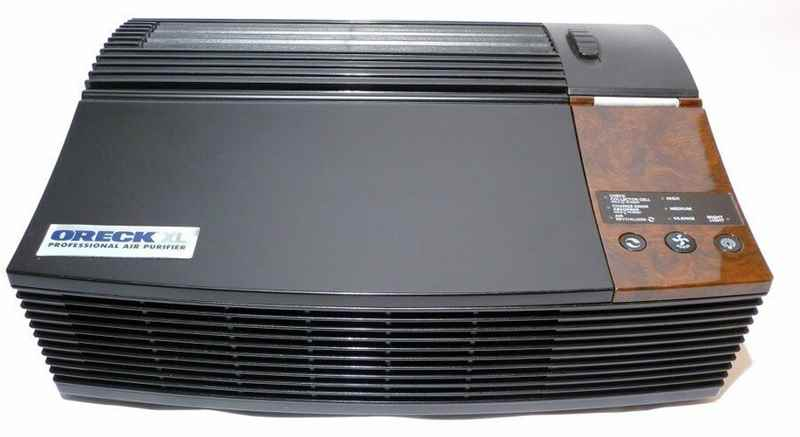 Oreck Air Purifier helps you protect from odors, pollutants and allergens!